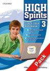 High spirits. Student's book-Workbook-My digital book-Extra book. Con espansione online. Per la Scuola media vol.3