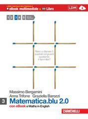 Matematica.blu 2.0. Moduli: S-L. Con Maths in english. Con espansione online. Per le Scuole superiori. Con DVD-ROM vol.3