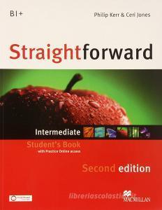 New Straightforward. Intermediate. Student's book-Webcode. Per le Scuole superiori. Con espansione online