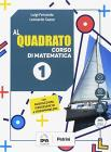 Al quadrato. Per la Scuola media. Con e-book. Con espansione online. Con 3 libri: Quaderno-Formulario-Tavole numeriche. Con DVD-ROM vol.1