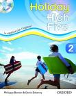 High five on holiday. Student book. Per la Scuola media. Con CD. Con espansione online vol.2