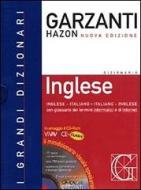 Dizionario Garzanti Hazon di inglese. Inglese-italiano, italiano-inglese. Con CD-ROM