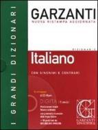 Dizionario Garzanti di italiano con sinonimi e contrari. Con CD-ROM