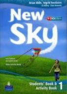 New sky. Student's book-Activity book-Sky reader. Con espansione online. Con CD Audio. Per la Scuola media vol.1