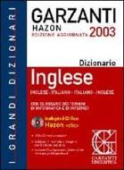 Il grande dizionario di inglese. Con CD-ROM Hazon Clic