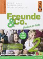 Freunde & Co. Kursbuch-Arbeitsbuch-Activebook-Schulbatt. Per la Scuola media. Con CD Audio vol.2