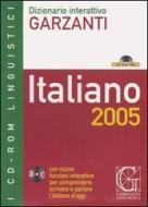 Dizionario interattivo Garzanti. Italiano 2005. CD-ROM