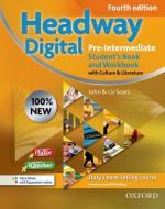 New headway digital. Pre-intermediate. Student's book-Workbook. Without key. Per le Scuole superiori. Con CD-ROM. Con espansione online