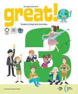 Great! Per la Scuola elementare. Con e-book. Con espansione online vol.3