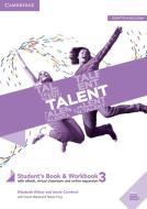 Talent. Student's book e Workbook. Per le Scuole superiori. Con e-book. Con espansione online vol.3