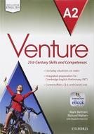 Venture. A2. Student's book-Openbook-Workbook-Studyapp. Per le Scuole superiori. Con CD Audio. Con e-book. Con espansione online