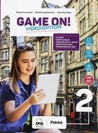 Game on! Student's book-Workbook. Per la Scuola media. Con audio formato MP3. Con e-book. Con espansione online. Con Libro: Maps. Con DVD-ROM vol.2