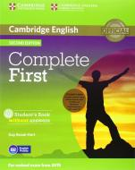 Complete FIRST. Student's book without answers and Workbook without answers. Per le Scuole superiori. Con espansione online. Con CD-Audio. Con CD-ROM