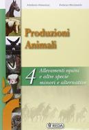 Corso di produzioni animali. Per gli Ist. tecnici e professionali. Con e-book. Con espansione online vol.4