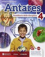 Antares. Antropologica 4. Per la Scuola elementare. Con e-book. Con espansione online
