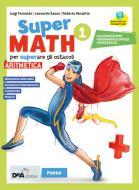 Supermath. Aritmetica. Con Formulario plastificato, Tavole numeriche e Geometria 1. Per la Scuola media. Con e-book. Con espansione online. Con DVD-ROM vol.1