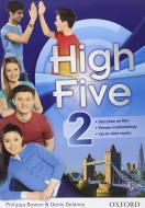 High five. Student's book-Workbook. Per la Scuola media. Con CD Audio. Con espansione online vol.2