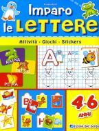 Imparo le lettere. Con adesivi. Ediz. illustrata