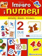 Imparo i numeri. Con adesivi. Ediz. illustrata