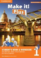Make it! Plus level 1. Student's book-Workbook. Per la Scuola media. Con DVD-ROM. Con e-book. Con espansione online