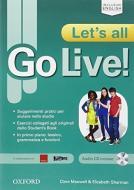 Go live. Let's all. Vol. 1-2-3. Per la Scuola media