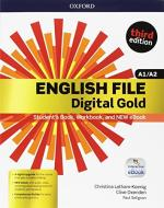 English file gold. A1-A2 premium. Student's book-Workbook. Per le Scuole superiori. Con e-book. Con espansione online
