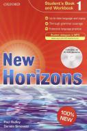 New horizons. Student's book-Workbook-Homework book. Con espansione online. Per le Scuole superiori. Con CD Audio. Con CD-ROM vol.1