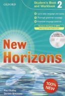 New horizons. Student's book-Workbook-Homework book. Con espansione online. Per le Scuole superiori. Con CD Audio. Con CD-ROM vol.2