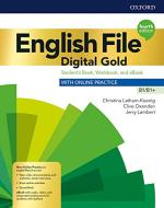 English file. Digital gold. B1-B1+. Student's book & workbook with key. Per il triennio delle Scuole superiori. Con e-book. Con espansione online