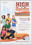 High spirits digital. Student's book-Workbook-Mydigitalbook 2.0. Per la Scuola media. Con CD-ROM. Con espansione online vol.1