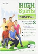 High spirits digital. Student's book-Workbook-Mydigitalbook 2.0. Per la Scuola media. Con CD-ROM. Con espansione online vol.2