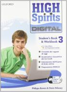 High spirits digital. Student's book-Workbook-Mydigitalbook 2.0. Per la Scuola media. Con CD-ROM. Con espansione online vol.3