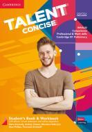 Talent concise. Student's book-Workbook. Per il biennio degli Ist. tecnici e professionali. Con e-book. Con espansione online. Con webapp