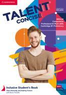 Talent concise. Inclusive student's book. Per il biennio degli Ist. tecnici e professionali. Con e-book. Con espansione online