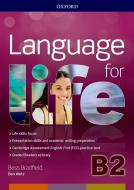 Language for life. B2. Student's book-Workbook. Con Hub, 16 eread, 2 tests. Per le Scuole superiori. Con ebook. Con espansione online. Con CD-ROM