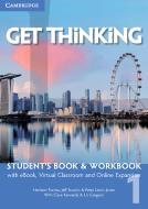 Get thinking. Student's book-Workbook. Per le Scuole superiori. Con e-book. Con espansione online vol.1