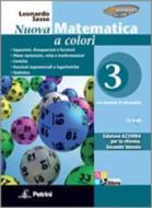 Nuova matematica a colori. Ediz. azzurra. Per le Scuole superiori. Con CD-ROM. Con espansione online vol.3