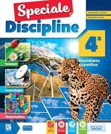 Speciale discipline. Area matematica-scienze. Per la Scuola elementare. Con e-book. Con espansione online vol.4