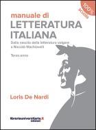 Manuale di Letteratura italiana. Terzo anno