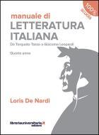 Manuale di Letteratura italiana. Quarto anno