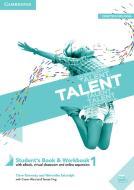 Talent. Student's book e Workbook. Per le Scuole superiori. Con ebook. Con espansione online vol.1
