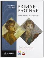 Primae paginae. Con Vocabolario. Per la Scuola media. Con CD-ROM