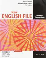 New english file. Elementary. Student's book-Workbook. Without key. Per le Scuole superiori. Con CD-ROM