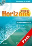 Horizons. Options. Pre-Intermediate. Student's book-Workbook-Companion book-Portfolio. Per le Scuole superiori. Con Multi-ROM