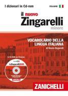 Il nuovo Zingarelli minore. Vocabolario della lingua italiana. CD-ROM