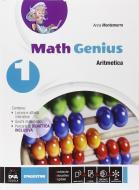 Math genius. Aritmetica-Geometria-Palestra delle competenze. Per la Scuola media. Con e-book. Con espansione online vol.1