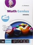 Math genius. Aritmetica-Geometria-Palestra delle competenze. Per la Scuola media. Con e-book. Con espansione online vol.2