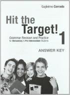 Hit the target. Answer key vol.1