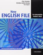 New english file. Pre-intermediate. Student's book-Workbook-My digital book-Entry checker. Con espansione online. Per le Scuole superiori. Con CD-ROM
