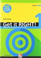Get it right ! Improve your Skills Versione internazionale. Level 1: Student's book. Nuova ediz. Con app. Con CD-Audio